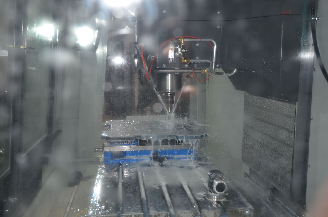 CNC Milling | Northern Michigan Machine Shop | North Central